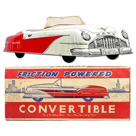 1957 Marx, Friction Sportster Convertible in Original Box