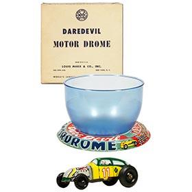 1954 Marx, DareDevil Motor Drome in Original Box